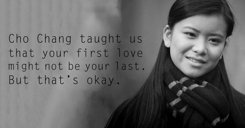 Cho Chang - See the 30 Things That Harry Potter taught us