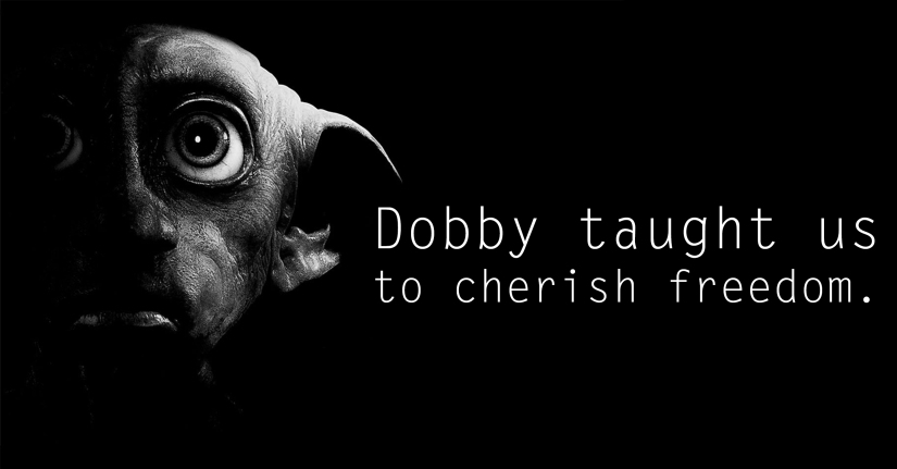 Dobby - See the 30 Things That Harry Potter taught us