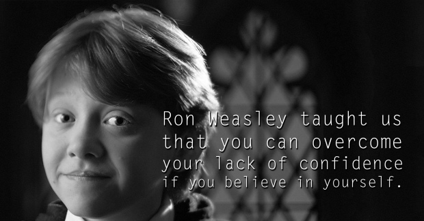 Ron Weasley - See the 30 Things That Harry Potter taught us
